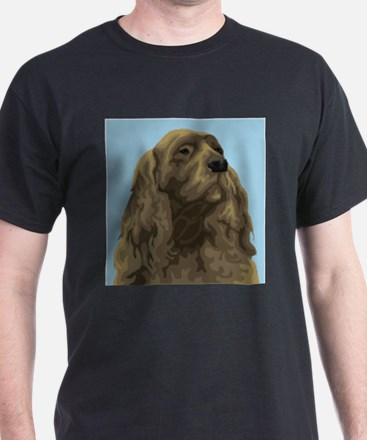 Sussex Spaniel (Front only) T-Shirt