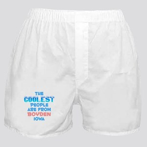 Coolest: Boyden, IA Boxer Shorts