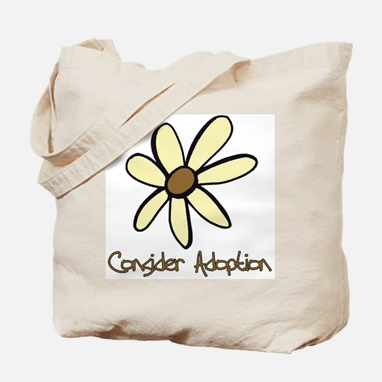 Consider Adoption Tote Bag