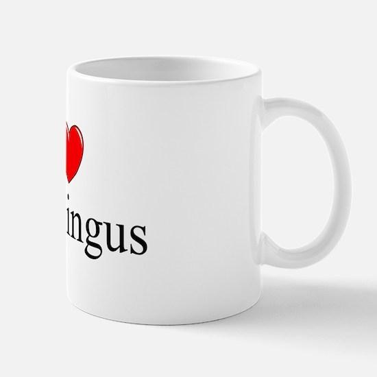 """I Love (Heart) Penillingus"" Mug"