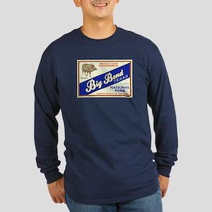 Big Bend (Javelina) Long Sleeve Dark T-Shirt