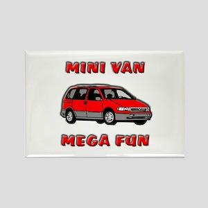 Minivan Mega Fun Magnets