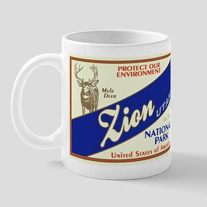 Zion (Mule Deer) Mug