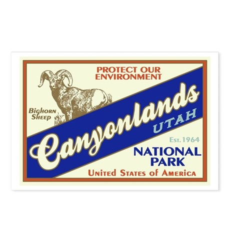 Canyonlands (Bighorn) Postcards (Package of 8)