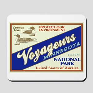 Voyageurs (Loons) Mousepad