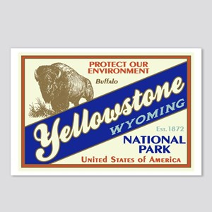 Yellowstone (Buffalo) Postcards (Package of 8)