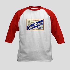 Bryce Canyon (Antelope) Kids Baseball Jersey
