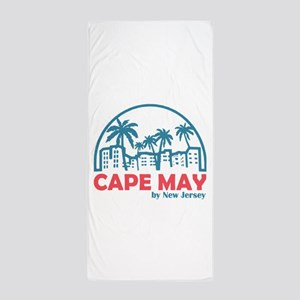 Summer cape may- new jersey Beach Towel
