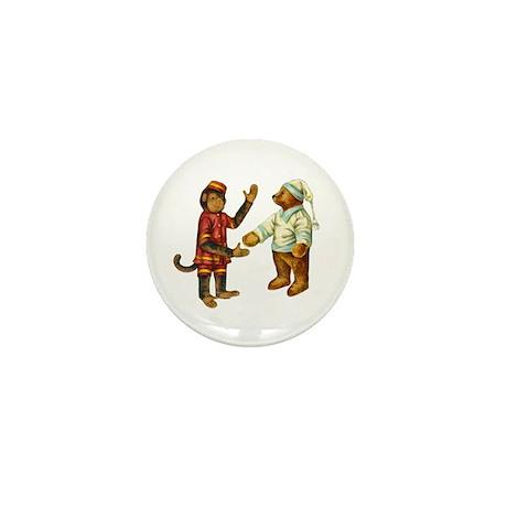 MONKEY & BEAR Mini Button