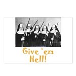Give 'em Hell Postcards (Package of 8)