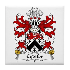 Cydifor (AP SELYE -King of Dyfed) Tile Coaster
