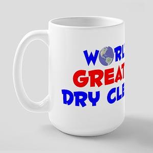 World's Greatest Dry C.. (A) Large Mug