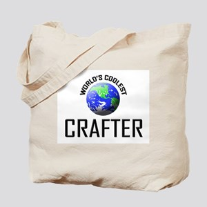 World's Coolest CRAFTER Tote Bag