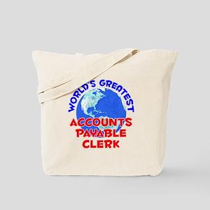 World's Greatest Accou.. (E) Tote Bag