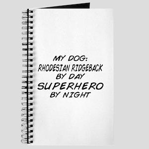 Rhodesian Ridgeback Superhero Journal
