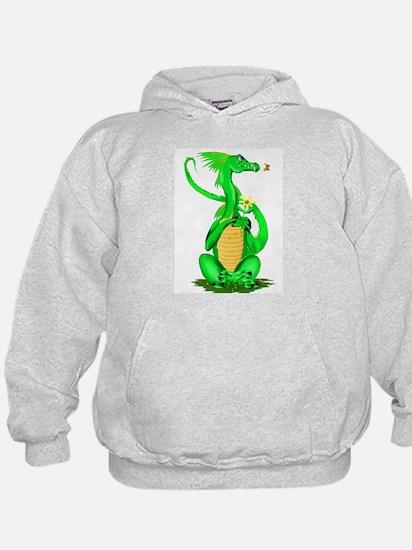Cute Green Dragon Hoodie