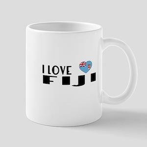 I Love Fiji 11 oz Ceramic Mug