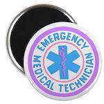 EMT Logo Pastel Magnet