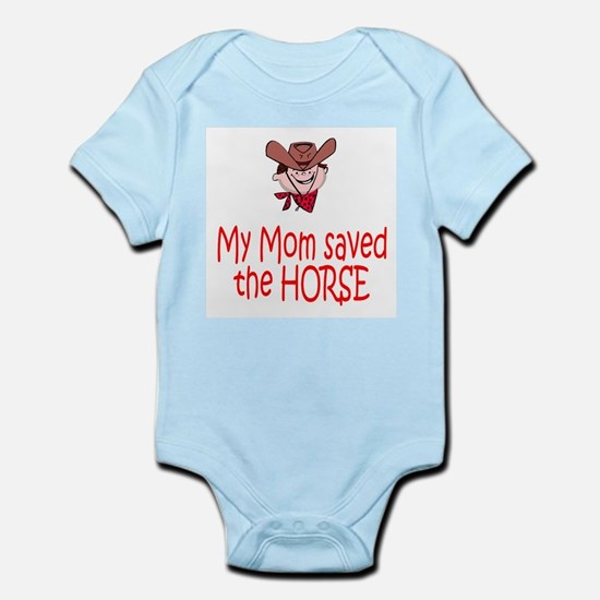 Mom Saved The Horse
