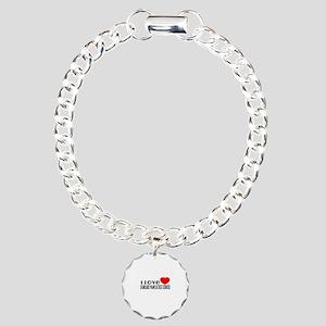 I Love Standard Manchest Charm Bracelet, One Charm