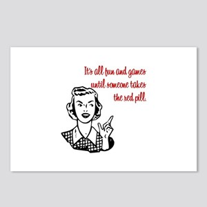 It's All Fun & Games Postcards (Package of 8)