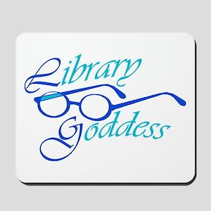 Library Goddess Mousepad