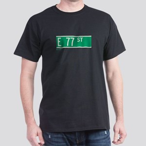 77th Street in NY Dark T-Shirt