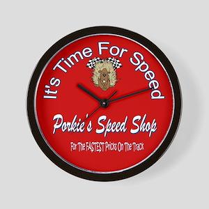 Porcupine Speed Shop Clock