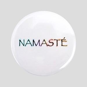 """Namaste 3.5"""" Button"""