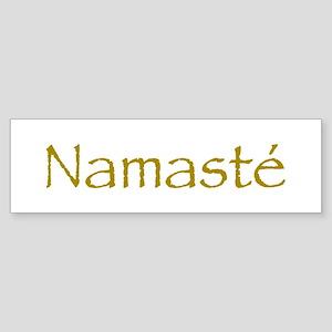 Simply Namaste Bumper Sticker