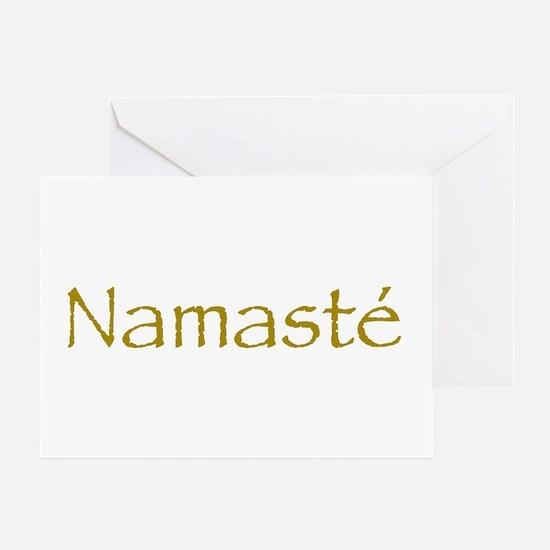 Simply Namaste Greeting Card