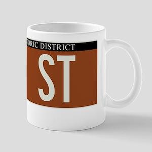 77th Street in NY Mug
