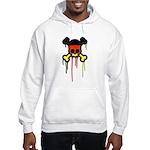 German Punk Skull Hooded Sweatshirt