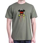German Punk Skull Dark T-Shirt