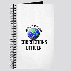 World's Coolest CORRECTIONS OFFICER Journal