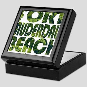 Summer fort lauderdale- florida Keepsake Box