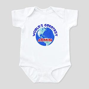 World's Greatest Admin (E) Infant Bodysuit