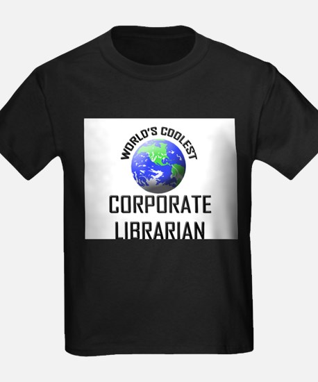 World's Coolest CORPORATE LIBRARIAN T