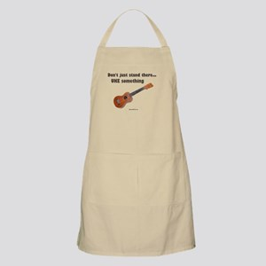 Don't just stand there, UKE s BBQ Apron
