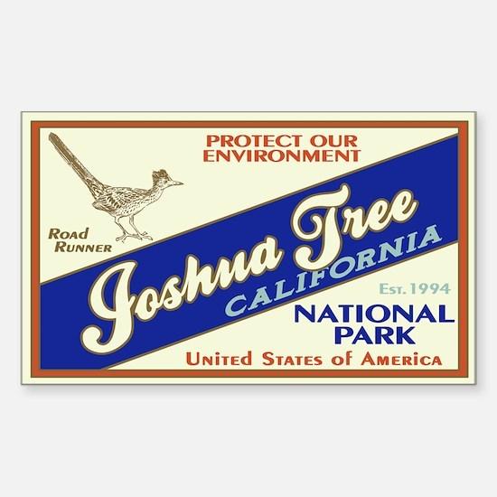 Joshua Tree (Road Runner) Rectangle Decal