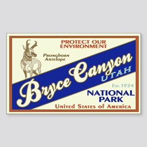 Bryce Canyon (Antelope) Rectangle Sticker