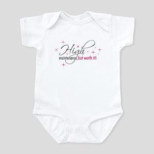 High Maintenance Infant Bodysuit
