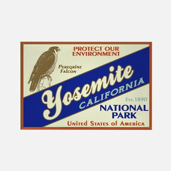 Yosemite (Falcon) Rectangle Magnet