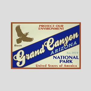 Grand Canyon (Raven) Rectangle Magnet