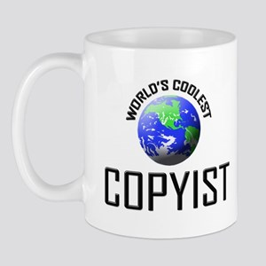 World's Coolest COPYIST Mug