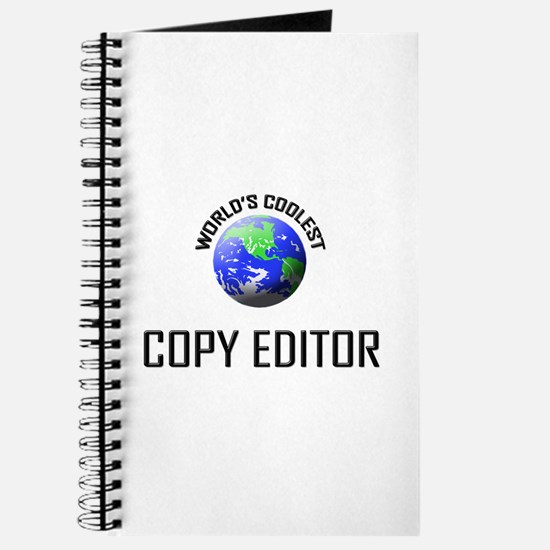 World's Coolest COPY EDITOR Journal