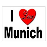 I Love Munich Small Poster