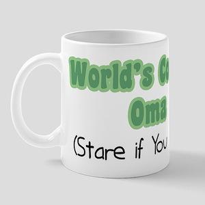World's Coolest Oma Mug