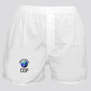 World's Coolest COP Boxer Shorts