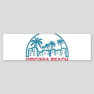 Summer virginia beach- virginia Bumper Sticker